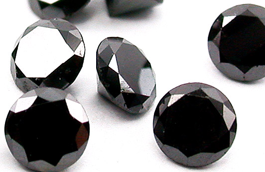 vente diamant noir pierres taill es. Black Bedroom Furniture Sets. Home Design Ideas