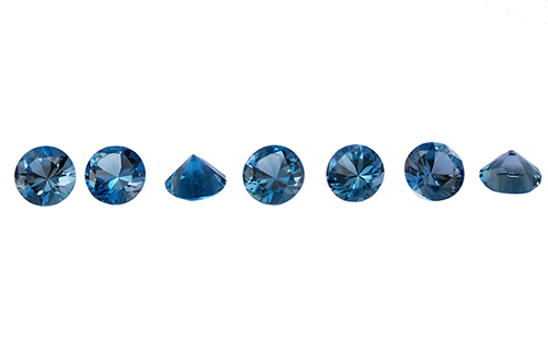 Topaze bleue London Blue (traitée)