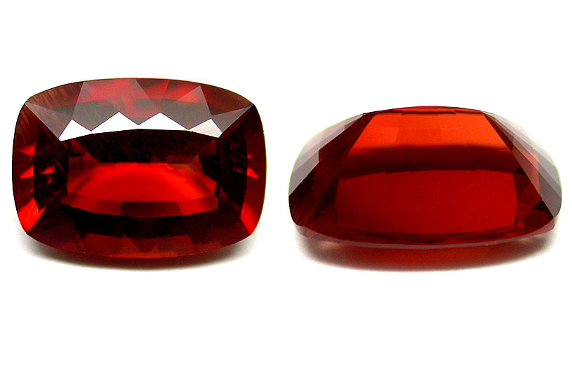 Andésine rouge 4.29ct