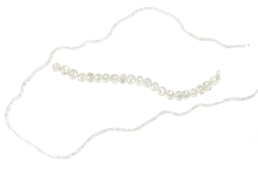 Collier de diamants blancs