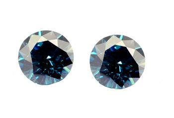 Diamant bleu (traité) 2.5mm