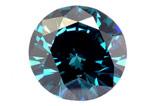 Diamant bleu (traité) 4,7mm