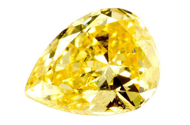 Diamant jaune 0.47ct