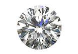 Diamant blanc FG VS 2.5mm