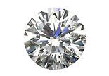 Diamant blanc H P1 2.5mm