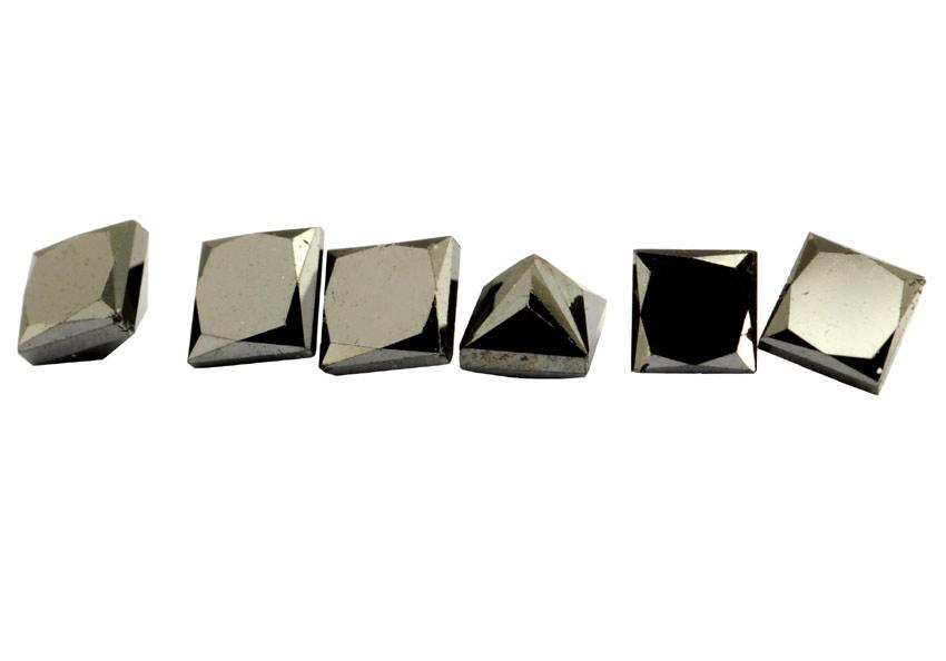 Diamant noir 2.5x2.5mm
