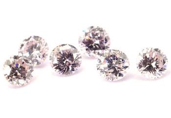 Diamant rose 2,6mm