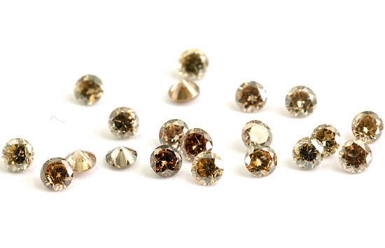 Diamant brun Cognac 1.9mm