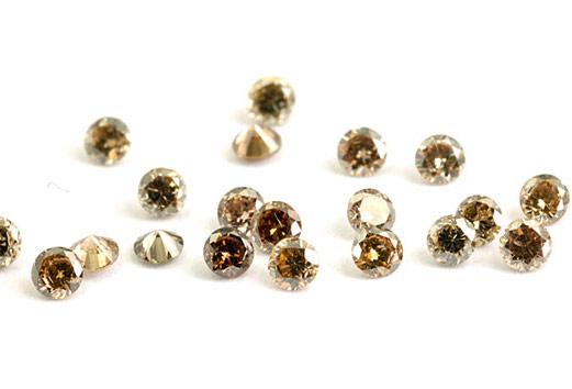 Diamant brun Cognac 3.1mm