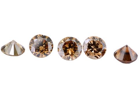 Diamant brun Cognac 3.6mm