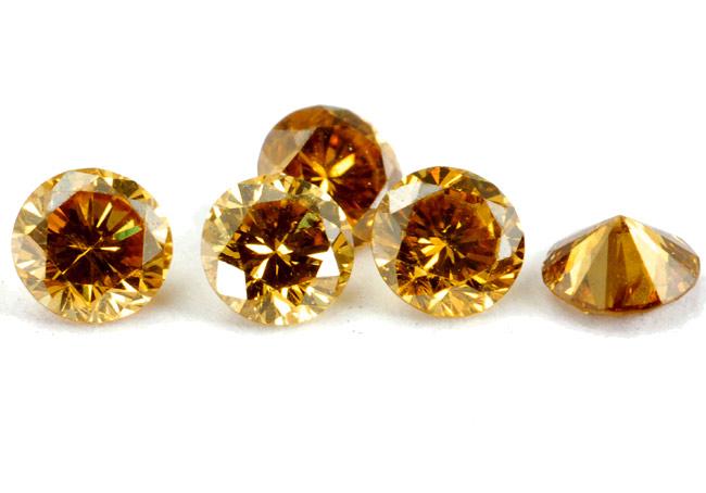 Diamant orange 1.3mm