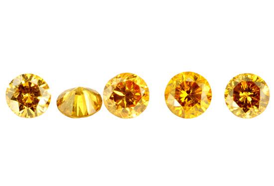 Diamant orange