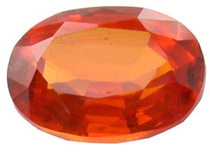 Grenat mandarin 1.66ct
