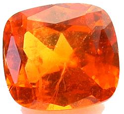 Grenat mandarin 1.61ct