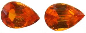 Grenat mandarin 0.78ct