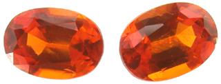 Grenat mandarin 1.14ct