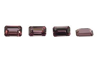Grenat rhodolite calibré 0.37ct