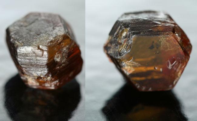 Hibonite - cristal
