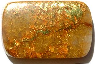 Or sur quartz 1.97ct