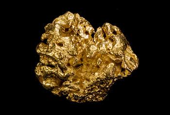 Pépite d'or plus que 10g