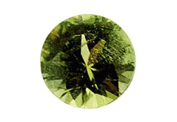 Péridot de météorite 0.27ct