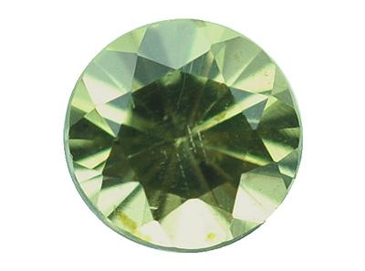 Péridot de météorite 0.1ct