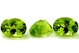 Péridot (olivine) calibré 0.9ct
