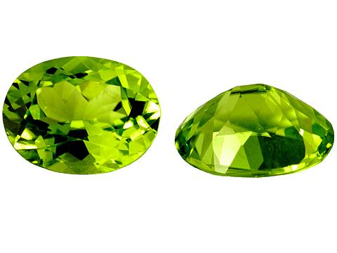 Péridot (olivine) calibré 2.15ct