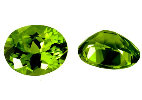 Péridot (olivine) calibré 2.5ct