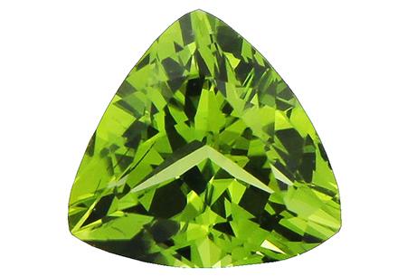 Péridot (olivine) calibré 1.78ct