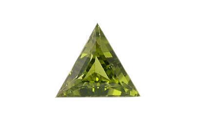 Péridot (olivine) calibré 1.54ct
