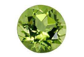 Péridot (olivine) calibré 1.48ct