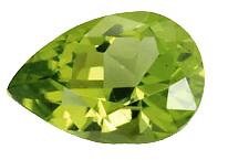 Péridot (olivine) calibré 1.15ct