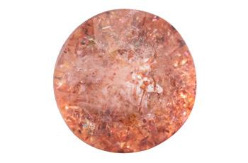 Quartz à Hematite - Lepidocrocite