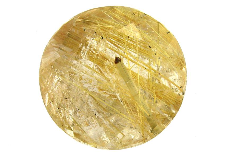 Quartz à Rutile doré 9.06ct