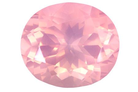 Quartz rose 21.33ct