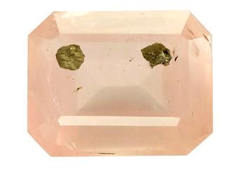 Quartz à pyrite