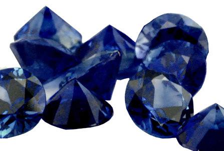 Saphir bleu rond (calibré) 1.8mm