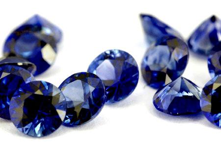 Saphir bleu rond (calibré) 1.9mm