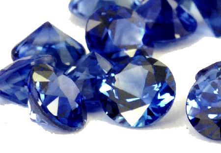 Saphir bleu rond (calibré) 3.2mm