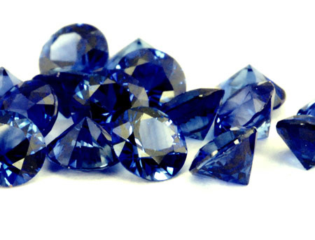 Saphir bleu rond (calibré) 3.3mm