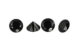 Spinelle noir calibré 1mm