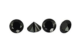 Spinelle noir calibré 1,5mm