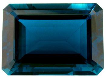 Topaze bleue London Blue 44.3ct (traitée)