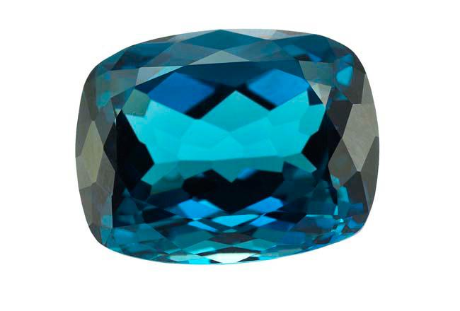 Topaze bleue London Blue 56.73ct (traitée)