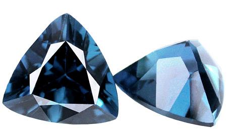 Topaze bleue London Blue calibrée 3ct (traitée)