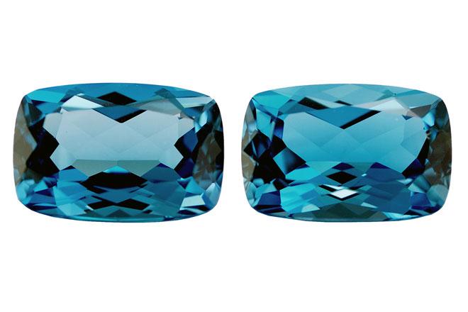 Topaze bleue London Blue 5ct (traitée)