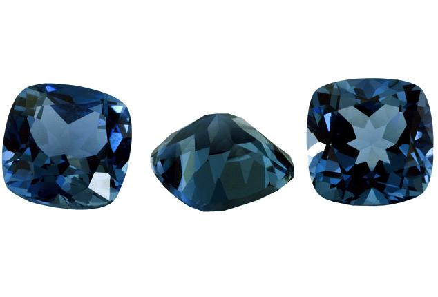 Topaze bleue London Blue calibrée 2.82ct (traitée)