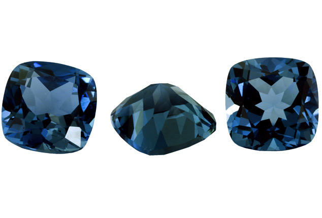 Topaze bleue London Blue calibrée 3.83ct (traitée)