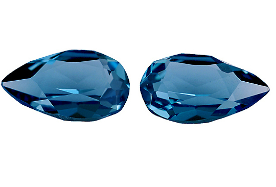Topaze bleue London Blue calibrée 1.7ct (traitée)